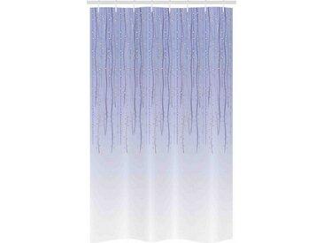 Abakuhaus Duschvorhang »Badezimmer Deko Set aus Stoff mit Haken« Breite 120 cm, Höhe 180 cm, Blumen Twisted Ivy Bögen Kabel