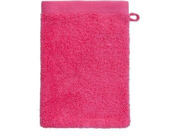 grace grand spa Waschlappen »Absolut« (3-tlg), mit breiter Webbordüre, rosa, rosa