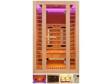 HOME DELUXE Infrarotkabine »Redsun M Deluxe«, BxTxH: 120 x 105 x 190 cm, 45 mm