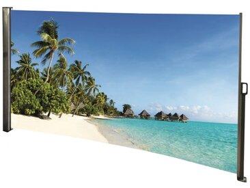 Seitenmarkise Südsee - Foto Windschutz Sichtschutz Links 160 x 300 cm