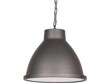 Metall Deckenlampe in Grau 45 cm breit