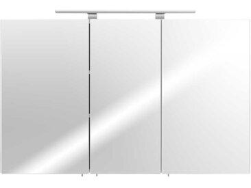 Bad Spiegelschrank in Weiß 110 cm