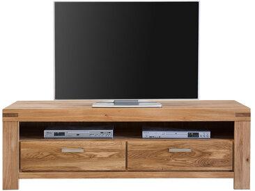 TV Lowboard mit Schubladen Wildeiche Massivholz