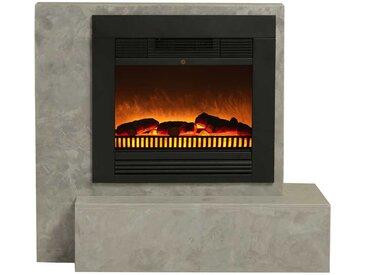 Dekokamin in Beton Grau 95 cm hoch