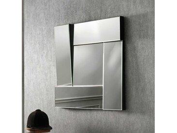Design Wandspiegel in 3D Optik 70 cm breit