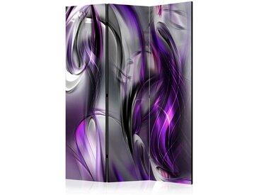 Raumtrennwand mit psychedelischem Muster aus Leinwand