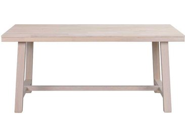 Esszimmertisch aus Eiche White Wash massiv modern