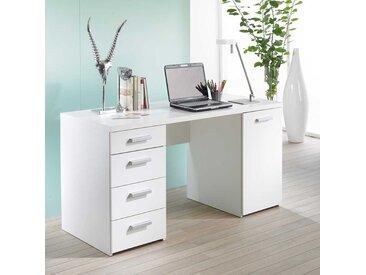 Schreibtisch in Weiß 145 cm