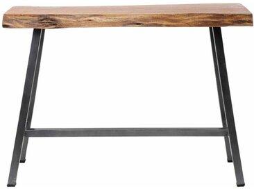 Küchenbartisch aus Akazie Massivholz Stahl