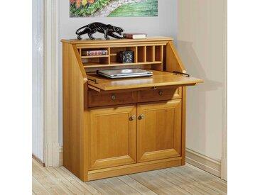 Sekretärschrank mit Kirschbaum furniert klassischen Design