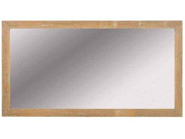 Badspiegel aus Kiefer Massivholz 160 cm