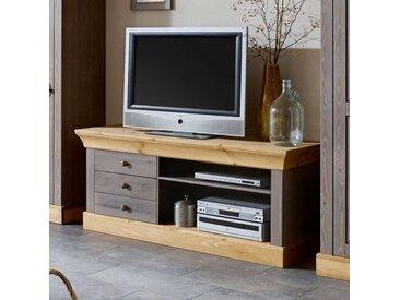 TV Regal aus Kiefer teilmassiv Landhausstil
