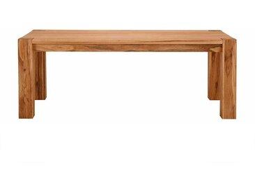 Echtholztisch aus Wildeiche gebürstet und geölt modern