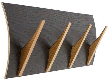 Garderobenleiste in Schwarz modern