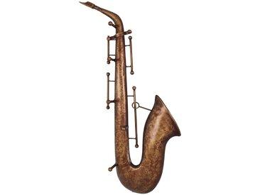 Wandgarderobe in Saxophon Optik Metall