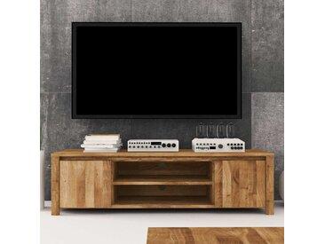 Fernsehtisch aus Wildeiche Massivholz 150 cm
