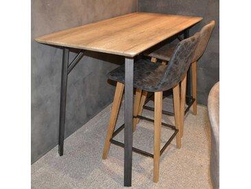 Küchenbartisch in Eiche Schwarz Factory Design