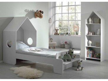 Kinderzimmer Set in Weiß Haus Optik (zweiteilig)