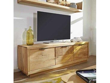 Fernsehlowboard aus Wildeiche Massivholz 170 cm breit