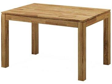 Holztisch aus Wildeiche massiv geölt