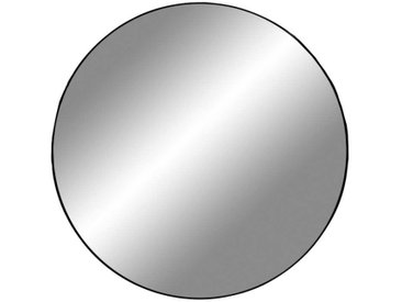 Runder Spiegel in Schwarz Metallrahmen