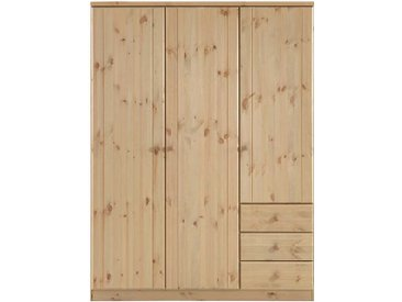 Schlafzimmer Kleiderschrank aus Kiefer Massivholz 150 cm