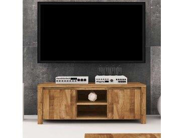 TV Board aus Wildeiche Massivholz natur geölt