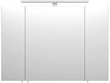 Bad Spiegelschrank in Weiß 90 cm breit