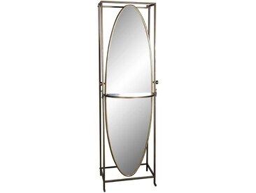 Designerspiegel im Vintage Style oval