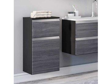 Unterschrank für Badezimmer Eiche Grau Optik