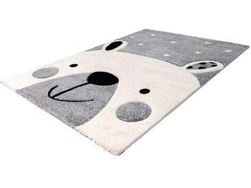 Kinderteppich mit Eisbär Motiv Kurzflor