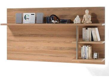 TV Wandboard in Asteiche Bianco furniert Landhausstil
