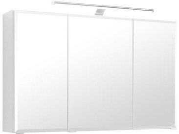 Spiegelschrank in Weiß 3D