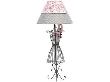 Lampe mit Schmuckständer Landhausstil