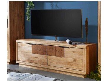 Fernsehboard aus Wildeiche Massivholz geölt