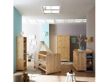 Komplett Babyzimmer aus Kiefer komplett (fünfteilig)