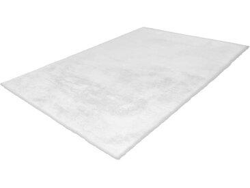 Teppich aus Kunstfell Weiß