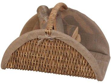 Korb für Holz Geflecht