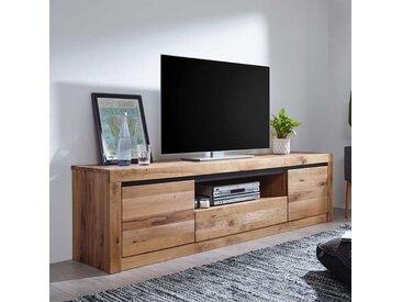Fernsehschrank aus Wildeiche Massivholz Zerreiche Massivholz