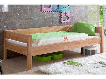 Kinderbett aus Buche Massivholz 90x200 cm