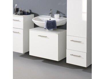 Waschtisch in Hochglanz-Weiß 60 cm breit