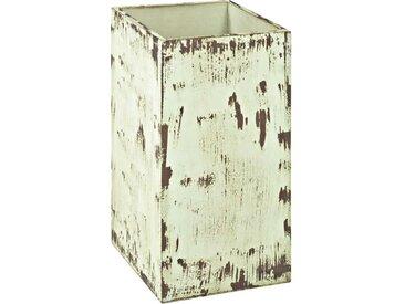 Schirmbehälter im Shabby Chic Design Cremefarben