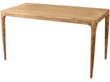Esszimmertisch aus Akazie Massivholz Retro Design
