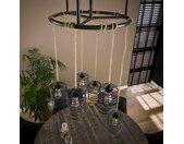 Design Deckenlampe im Industry und Loft Stil Metall