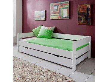 Kinderbett mit Gästebett Weiß