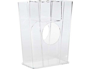 Regenschrimhalter aus Acrylglas 50 cm hoch