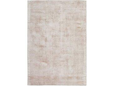 Kurzflor Teppich in Creme Weiß 1 cm hoch