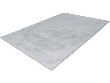 Kunstfell Teppich in hell Grau 5 cm hoch