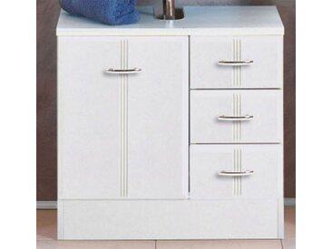 Waschtischunterschrank in Weiß