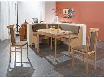 Kücheneckbankgruppe aus Buche Massivholz und (4-teilig)